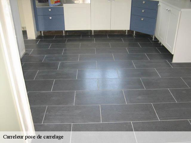 Pose de carrelage  95840
