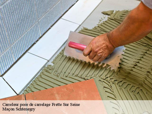 Carreleur pose de carrelage  95530